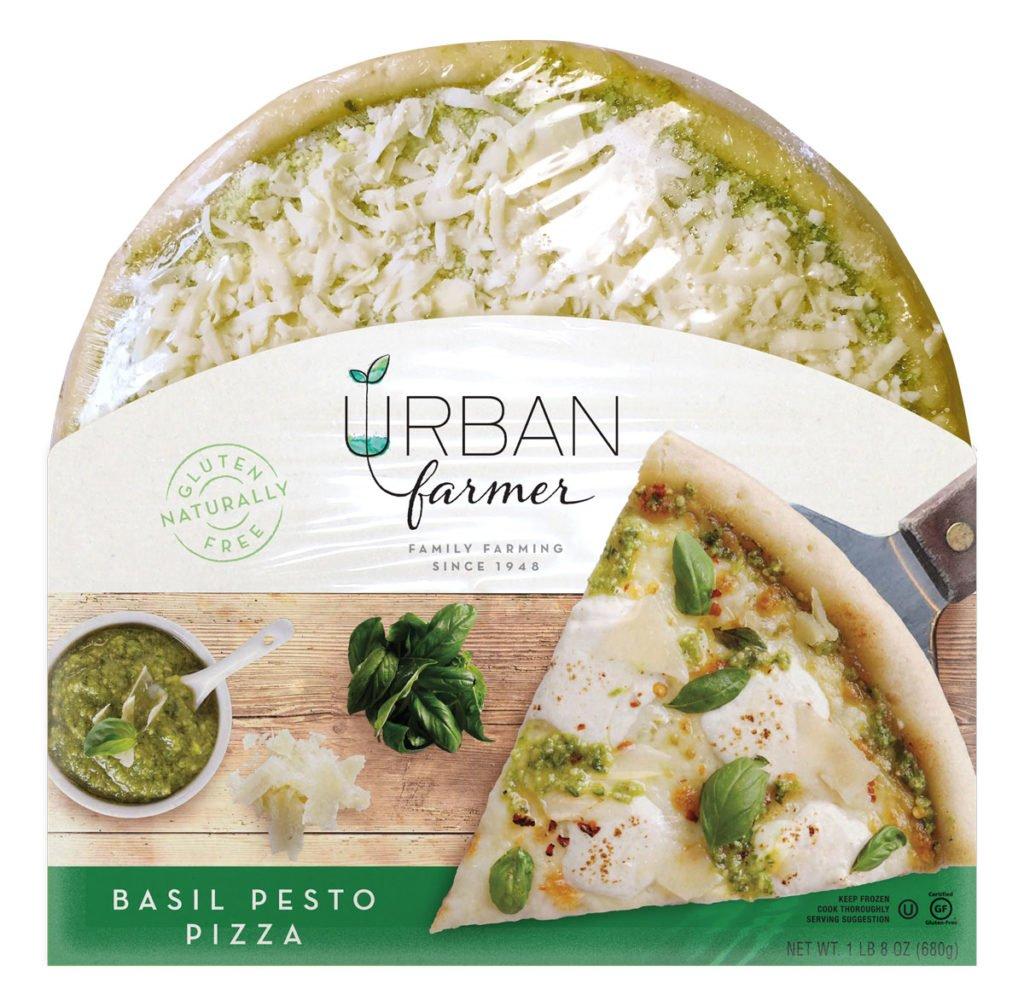 UrbanFarmer Gluten Free Pizza Basil Pesto