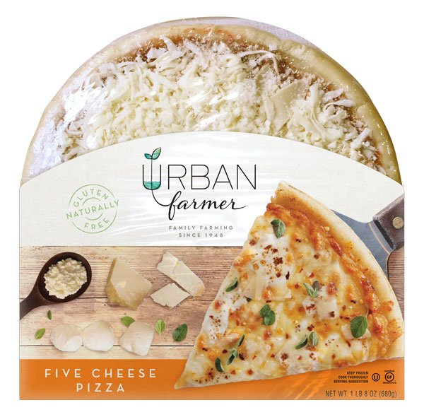UrbanFarmer Gluten Free Pizza Five Cheese